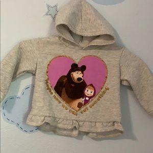 Other - Masha and Bear hoodie